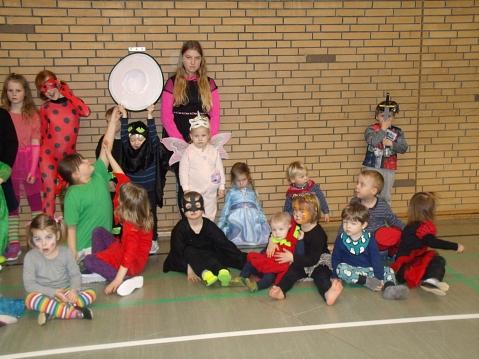 Faschingsfeier der Kinderturnsparte©TV Jahn Rehburg