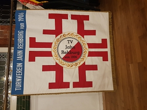 neue Vereinsfahne