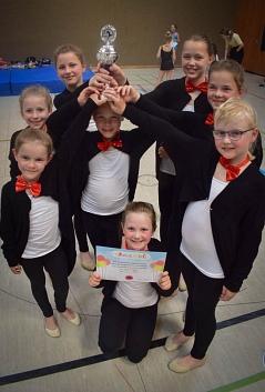 Platz 1 beim Kinderfestival Oldenburg©TV Jahn Rehburg