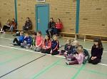 Teilnehmer der Tischtennis Mini-Meisterschaften