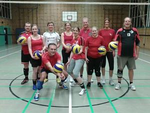 Volleyball in der Halle